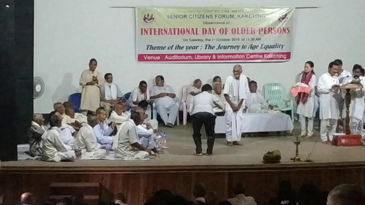 International Day of Older Persons @Kakching