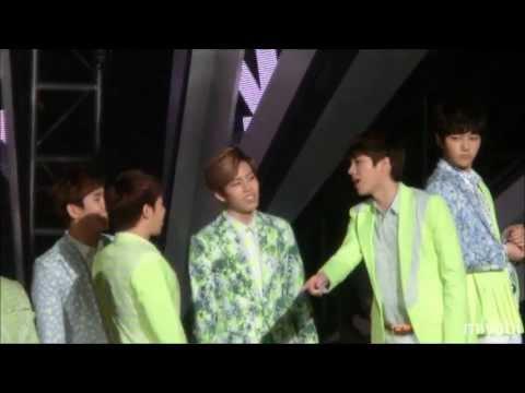 130413 Music Core INFINITE - Man In Love之翻來翻去