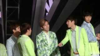 130413 Music Core INFINITE - Man In Love之翻來翻去