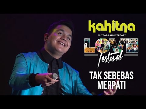 Tulus - Tak Sebebas Merpati | (Kahitna Love Festival Concert)