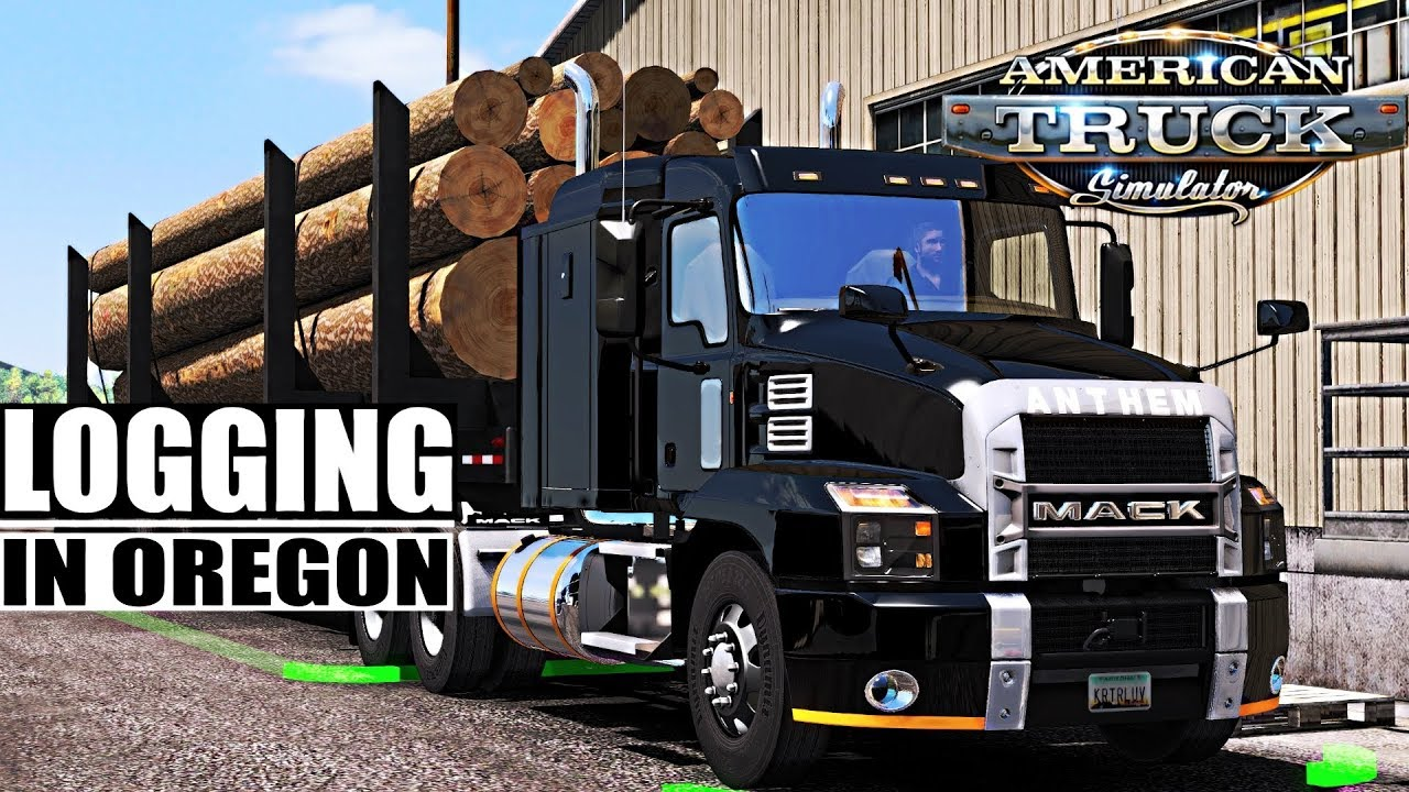 LOGGING VIDEO 2019 - Mack Anthem ATS 1 33