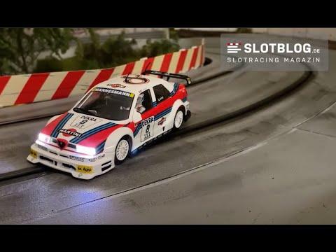 Slot.It Alfa 155 Umbau auf  Carrera Digital 132