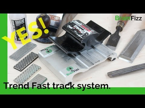 How to use the Trend Fast Track Sharpening system: Finally a review and DEMO from a long-time owner