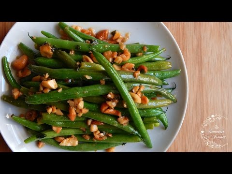 Stir Fried Green Beans Recipe | Side Dish Recipes | The Sweetest Journey