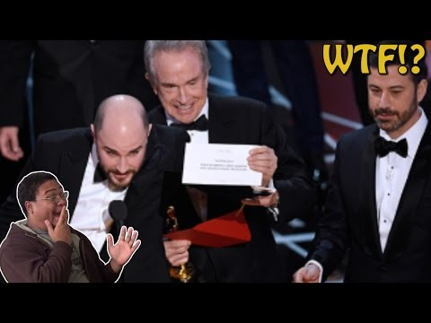 THE BIGGEST OSCARS SCREW UP OF ALL TIME!!! | 89th Academy Awards Recap