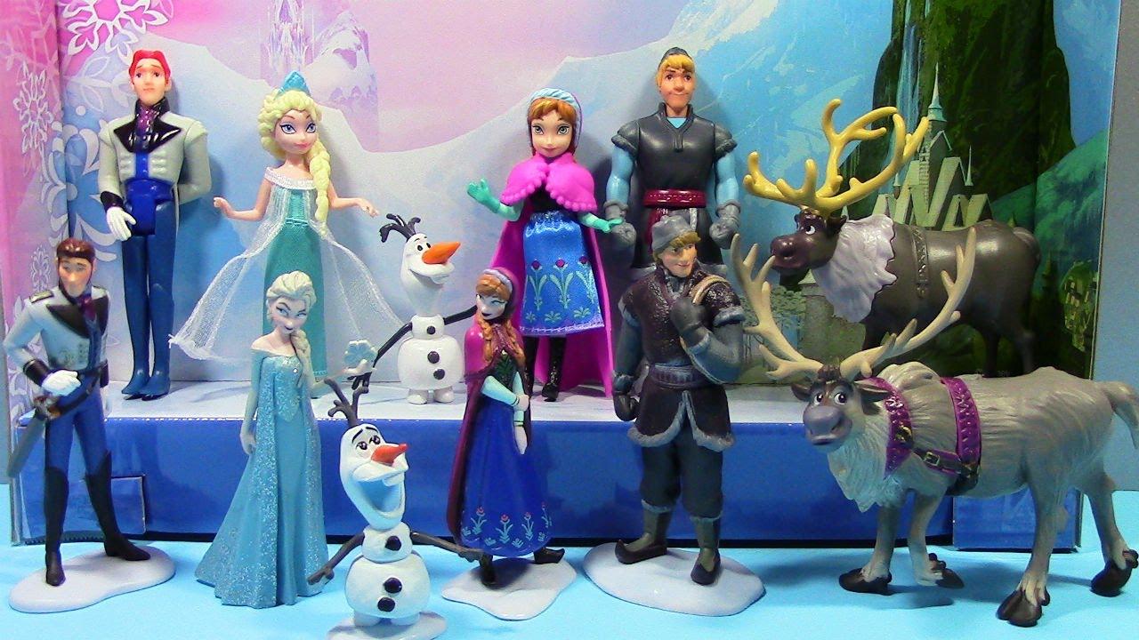 Disney Frozen Complete Story Set Mattel Figurine Playset
