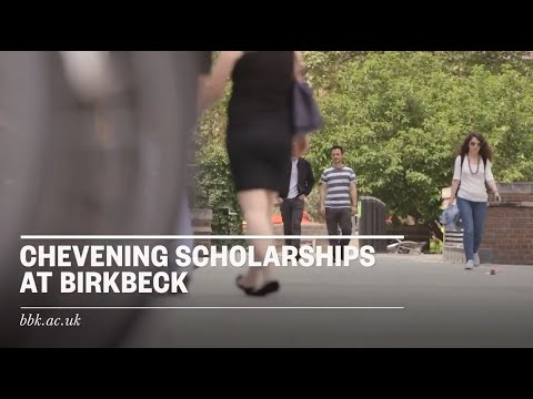 Applying for a Chevening scholarship at Birkbeck