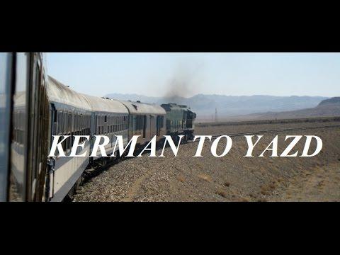 Iran/Kavir (Desert) Train Kerman to Yazd Part 37