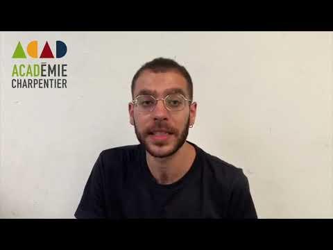 Jean Abou Fayçal, ancien étudiant à l'Académie Charpentier