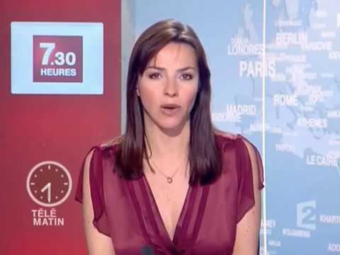 Sophie le saint france 2 t l matin 31 12 2007 youtube for Tele matin france 2 fr cuisine