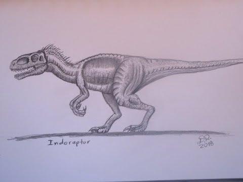 How To Draw Indoraptor Jurassic World Fallen Kingdom Danny The