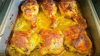 Greek Chicken Roasted - Greek yogurt Chicken baked - By Mind Blowing Cooking