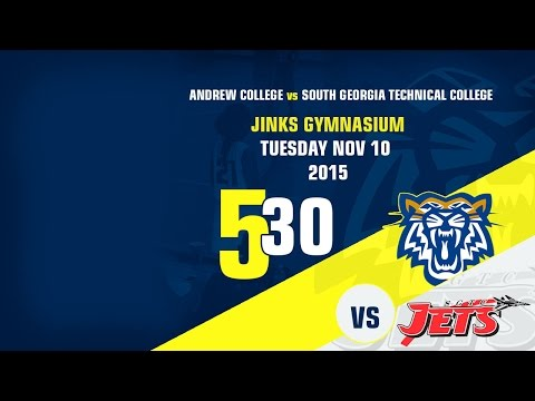 WOMEN BASKETBALL: ANDREW COLLEGE vs SOUTH GEORGIA TECHNICAL COLLEGE