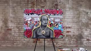Riskie on Who Killed Tupac on A&E