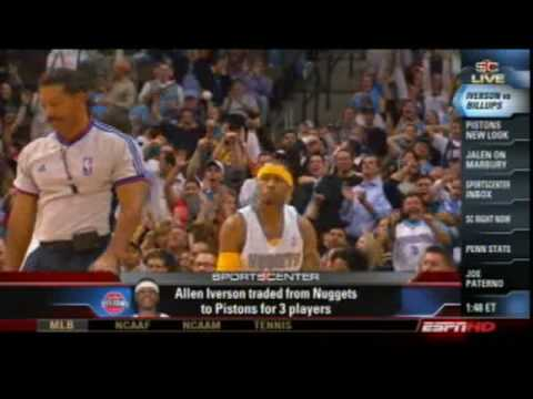 Jalen Rose discusses Iverson, Billups & Marbury on SportsCenter Nov 4