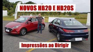 Impressões ao Dirigir os Novos HB20 e HB20S - com Emilio Camanzi