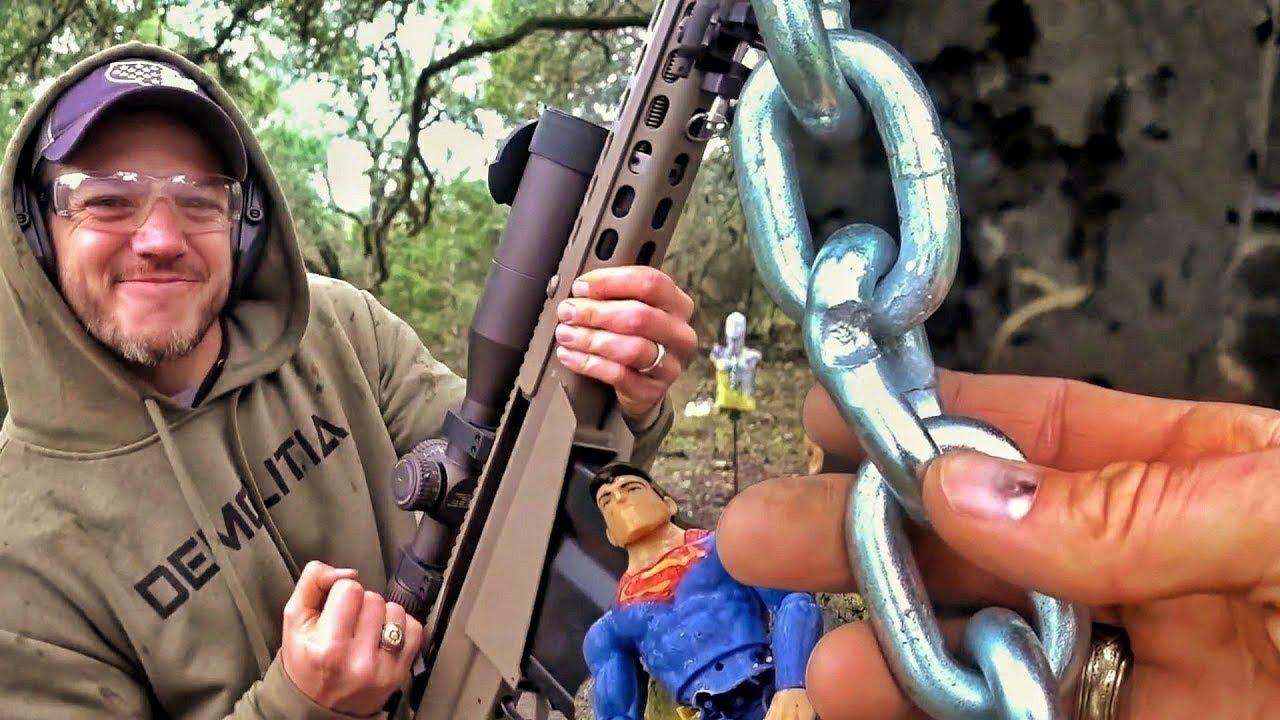 Можно ли порвать цепь пулей?   Разрушительное ранчо   Перевод Zёбры