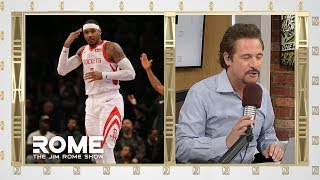 Melo is done | The Jim Rome Show