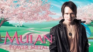 Repeat youtube video MULAN - I'LL MAKE A MAN OUT OF YOU (Metal Cover)