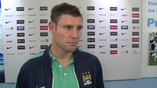Manchester City: City 2-0 Leicester | James Milner on Goals