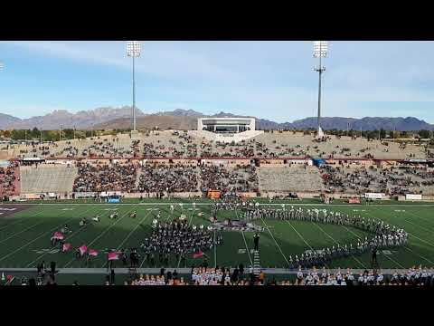 NMSU Pride Band Last Game Of The Season 2019 II - Aggies VS Utep - Las Cruces NM
