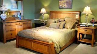 Peoples Furniture Attic Heirlooms Oak Bedroom