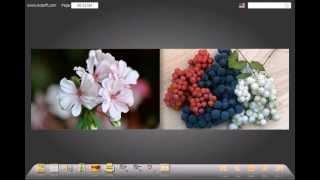 Как создать фотоальбом с эффектом перелистывания страниц.