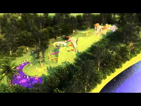 Development Of Blaxland Riverside Park At Sydney Olympic Park