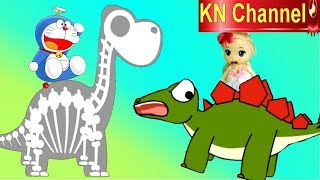 Trò chơi KN Channel DORAEMON và CỔ MÁY THỜI GIAN VỀ THỜI TIỀN SỬ P1 | KHỦNG LONG GAI & BỘ XƯƠNG