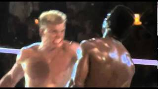 Apollo Creed Gets Punched to Death by Ivan Drago in Rocky 4