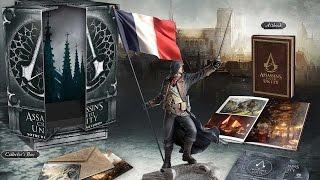 Assassins Creed: Unity Notre Dame Edition - Распаковка