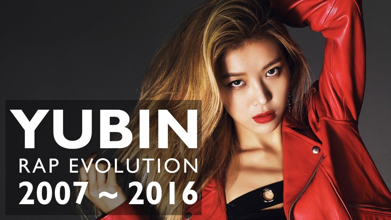 WONDER GIRLS - YUBIN RAP COMPILATION (all singles) - YouTube
