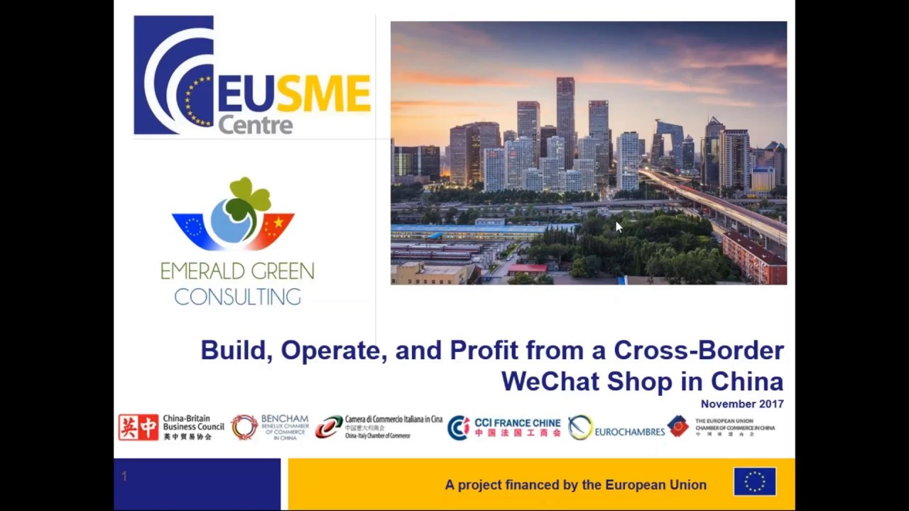 Build, Operate, and Profit from a Cross-Border WeChat Shop in China