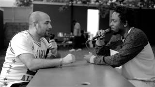 Kendrick Lamar speaks to Peter Rosenberg at New Look Wireless 2015