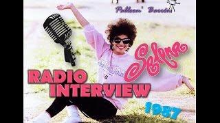 Selena Quintanilla a sus 16 Años - Totally Tejano Radio Interview (RARE) [San Antonio1987]
