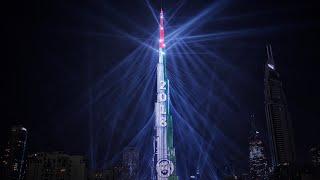 Dubai New Year 2018 | World's Largest Laser Show!!