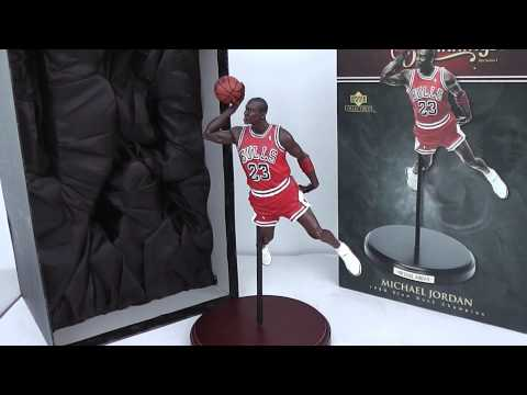 Sold Michael Jordan Upper Deck Historical Beginnings 1988 Slam Dunk Champ Statue on eBay