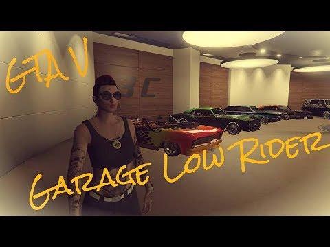 GTA V Mes Garages # 3 Les Low-Rider
