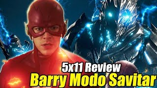 The Flash 5x11 Review - ¡FLASH MODO SAVITAR y EPIC K. FROST!