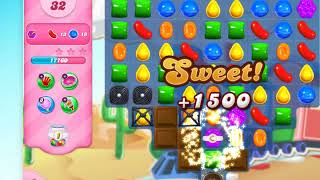 Candy Crush Saga on Facebook level 156, Game