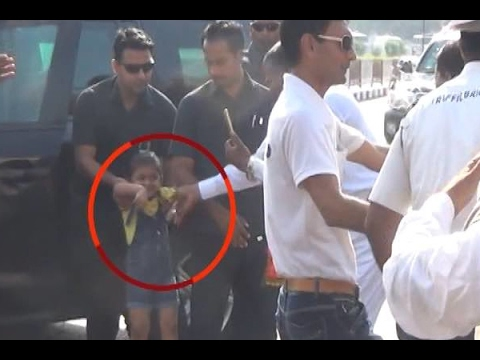 Surat: PM Modi stops his cavalcade midway to meet a small girl, embraces the child