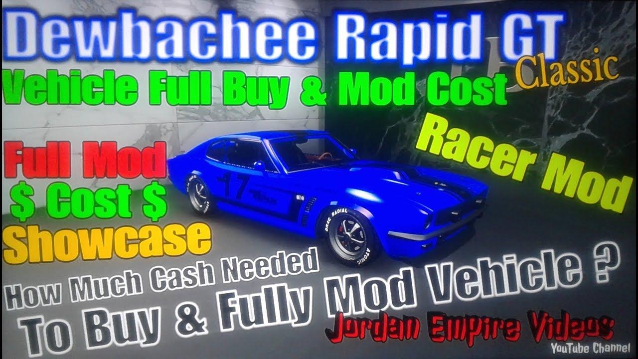 Gta 5 Online Dewbachee Rapid Gt Classic Full Mod Showcase Buy Mod