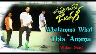What Amma What is This Amma || Vunnadhi Okate Zindagi || Full Song 2017