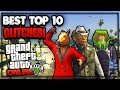 GTA 5 Online - ''TOP 10 WORKING GLITCHES'' 1.45 (Funny Glitch, Invisible Glitch & More