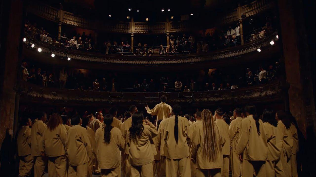 Download Kanye West & Sunday Service Collective @ Théâtre des Bouffes du Nord, Paris, France (03/01/2020)