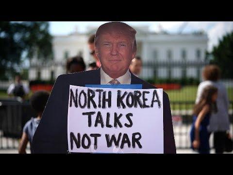 As Trump Threatens North Korea, US Preps War Games Next Door