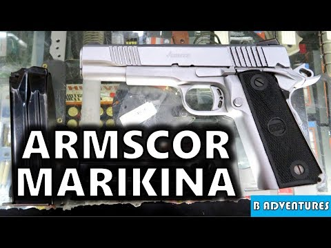 Armscor 22TCM & 9mm 1911, Marikina Manila Philippines S4 Vlog 11