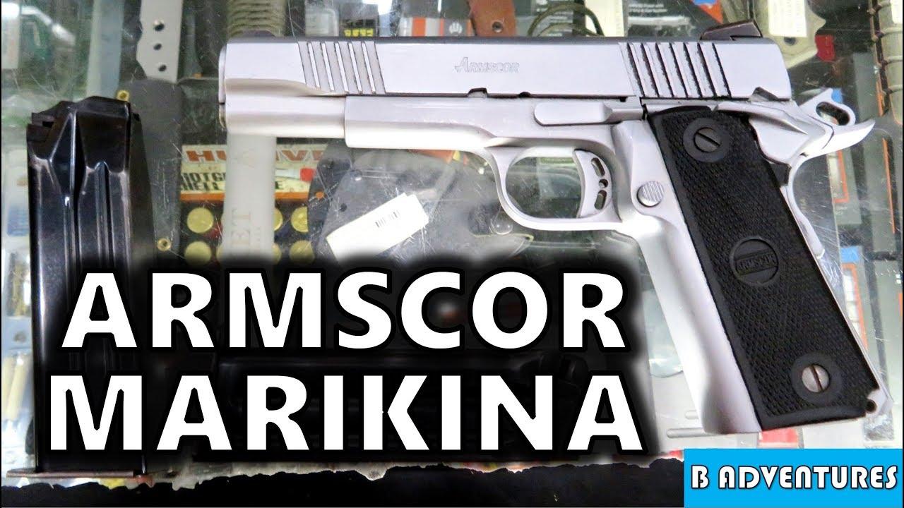 Armscor 22TCM & 9mm 1911, Manila Philippines S4 Vlog 11