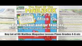 Where To Buy Homeschool Teacher Lesson Plans Grades 4-6 - Lot Of 80 Mailbox Magazine