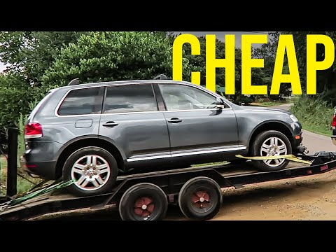 Buying The Cheapest V8 Touareg on Facebook | How Bad is It?